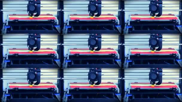 3D-Drucker funktioniert. fusionierte Abscheidungsmodellierung, fdm. 3D-Drucker