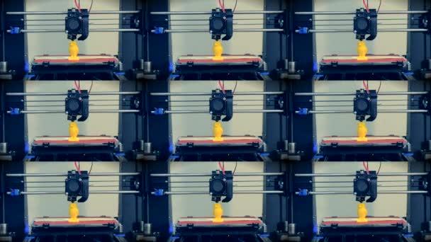 3D tiskárna pracuje. Taveného depozice modelování, Fdm. 3d tiskárna tisk