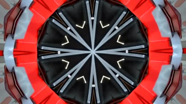 abstrakte Kaleidoskop-Bewegungshintergründe.