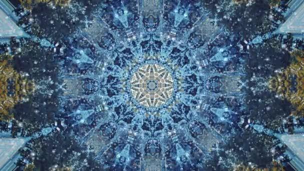 abstraktní kaleidoskop pohybu pozadí