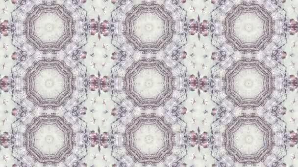 Sequenz mehrfarbige Grafik Ornamente Muster.