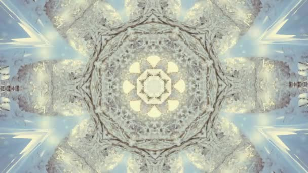 Abstract kaleidoscope motion background