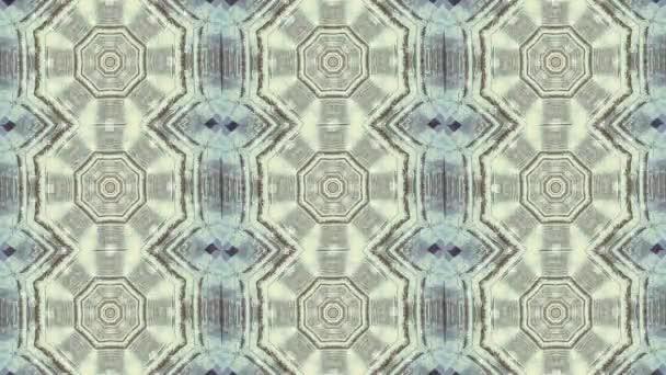 Pohyb na pozadí abstraktní animovaný kaleidoskop