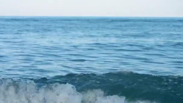 Mořský modrý panoramatový