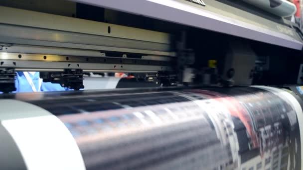 Großformatdrucker funktioniert