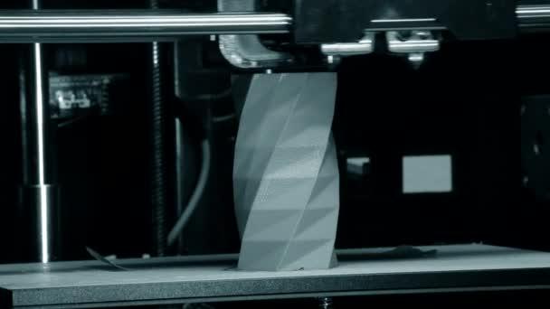 3D tiskárna pracuje. Taveného depozice modelování, Fdm. 3d tiskárna