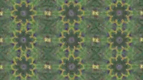 Absztrakt animált Kaleidoszkóp mozgó háttér.