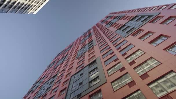 modernes Haus rot mit dem ursprünglichen Design