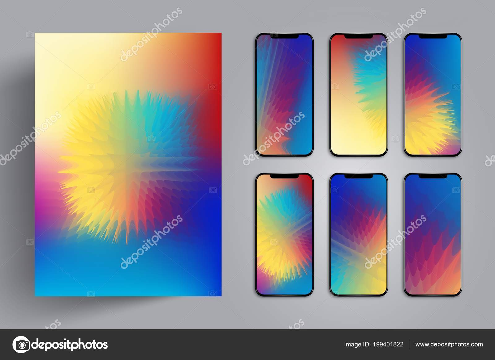 Wallpaper for smartphone or tablet for a background or cover with wallpaper for smartphone or tablet for a background or cover with colorful explosion or a thorn voltagebd Images