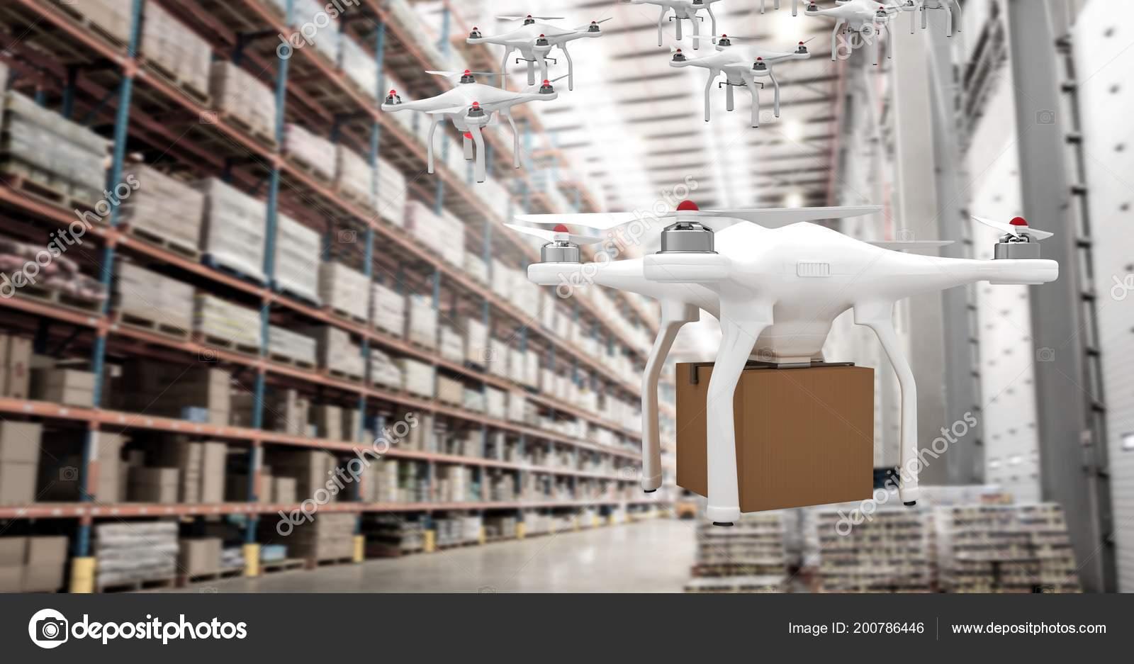 Resultado de imagen para aviones no tripulados en almacenes
