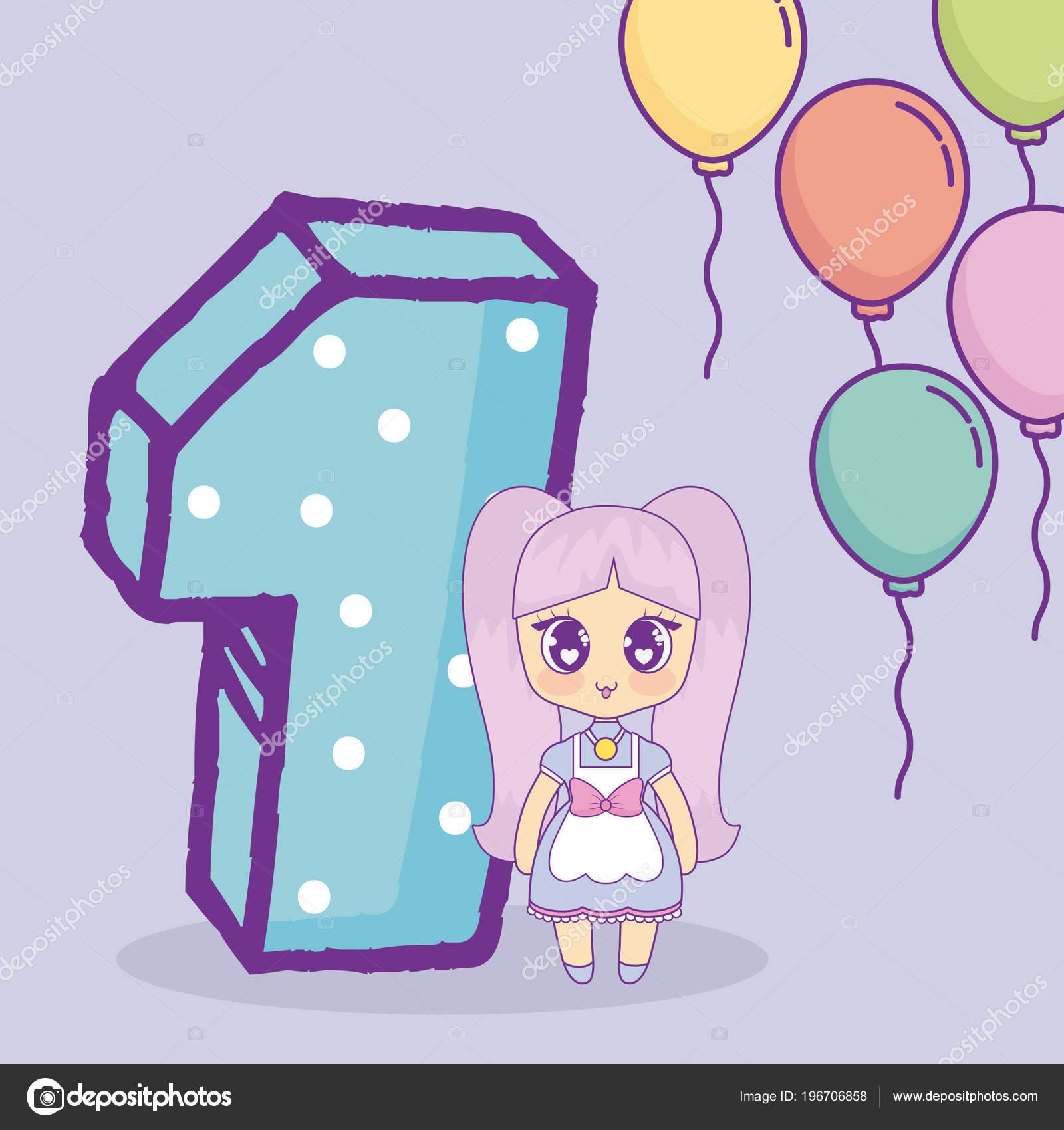 Disegni Kawaii Buon Compleanno Disegno Di Buon Compleanno Di