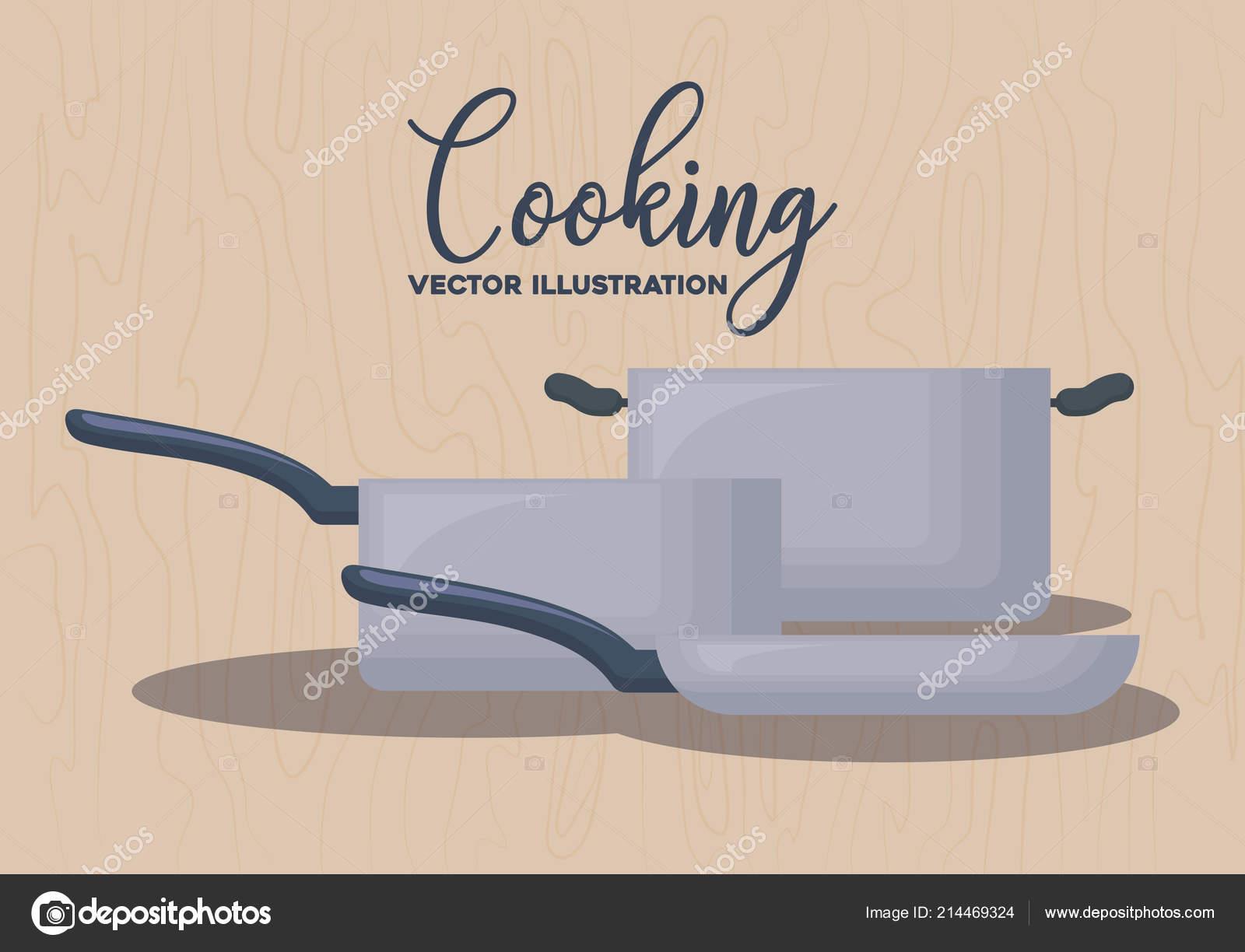 diseño de utensilios de cocina — Vector de stock © djv #214469324
