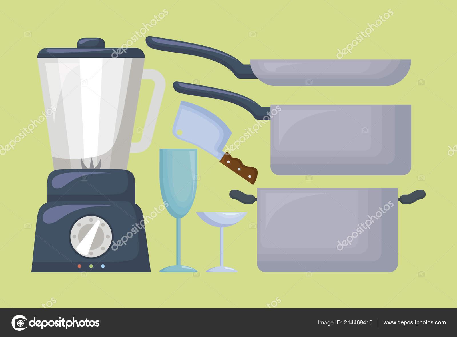 diseño de utensilios de cocina — Vector de stock © djv #214469410