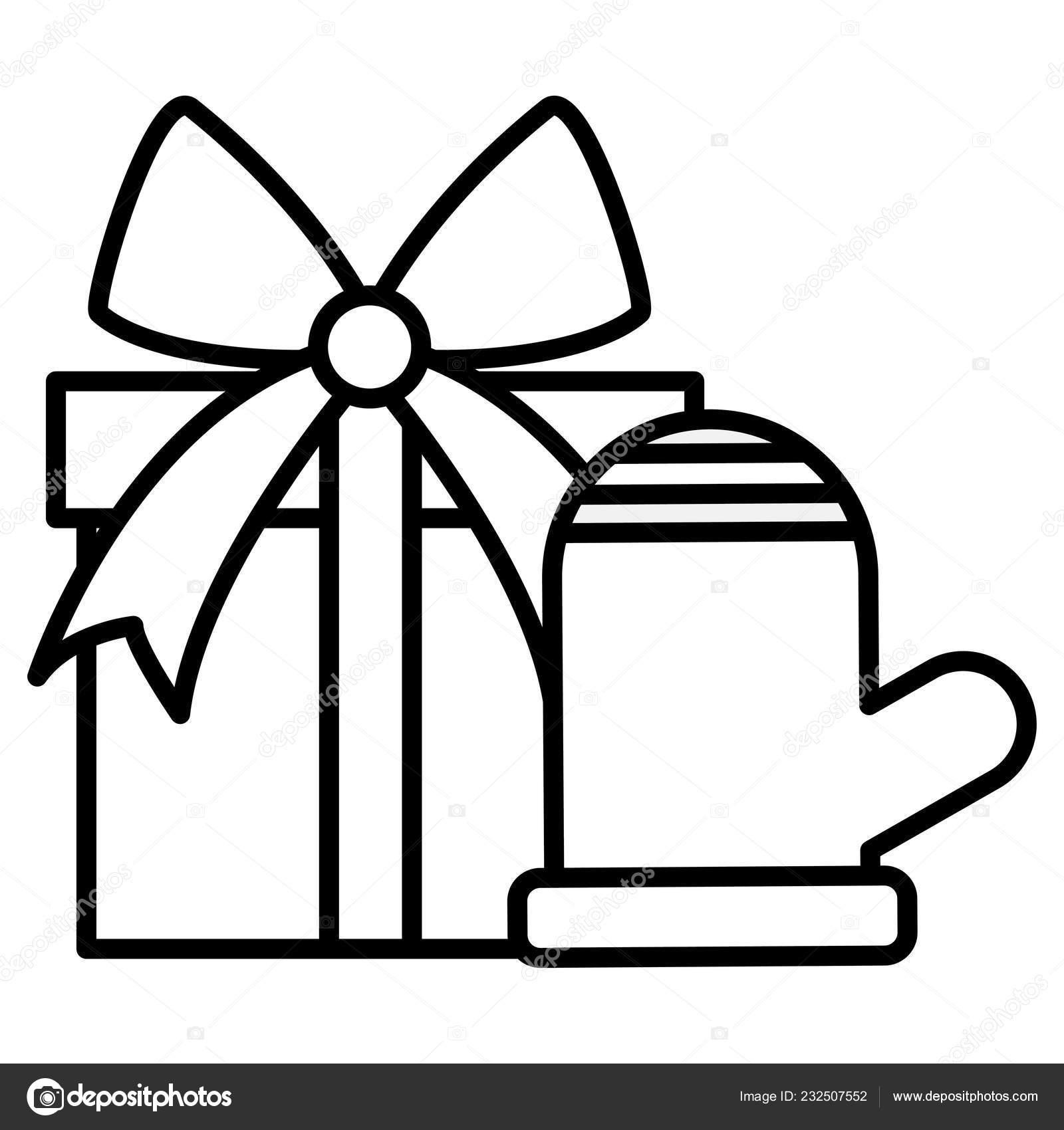 Gift Box Design Stock Vector C Djv 232507552