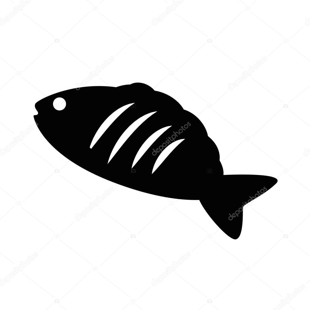 tuna sea food icon