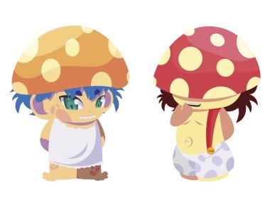 fungus elfs magic characters