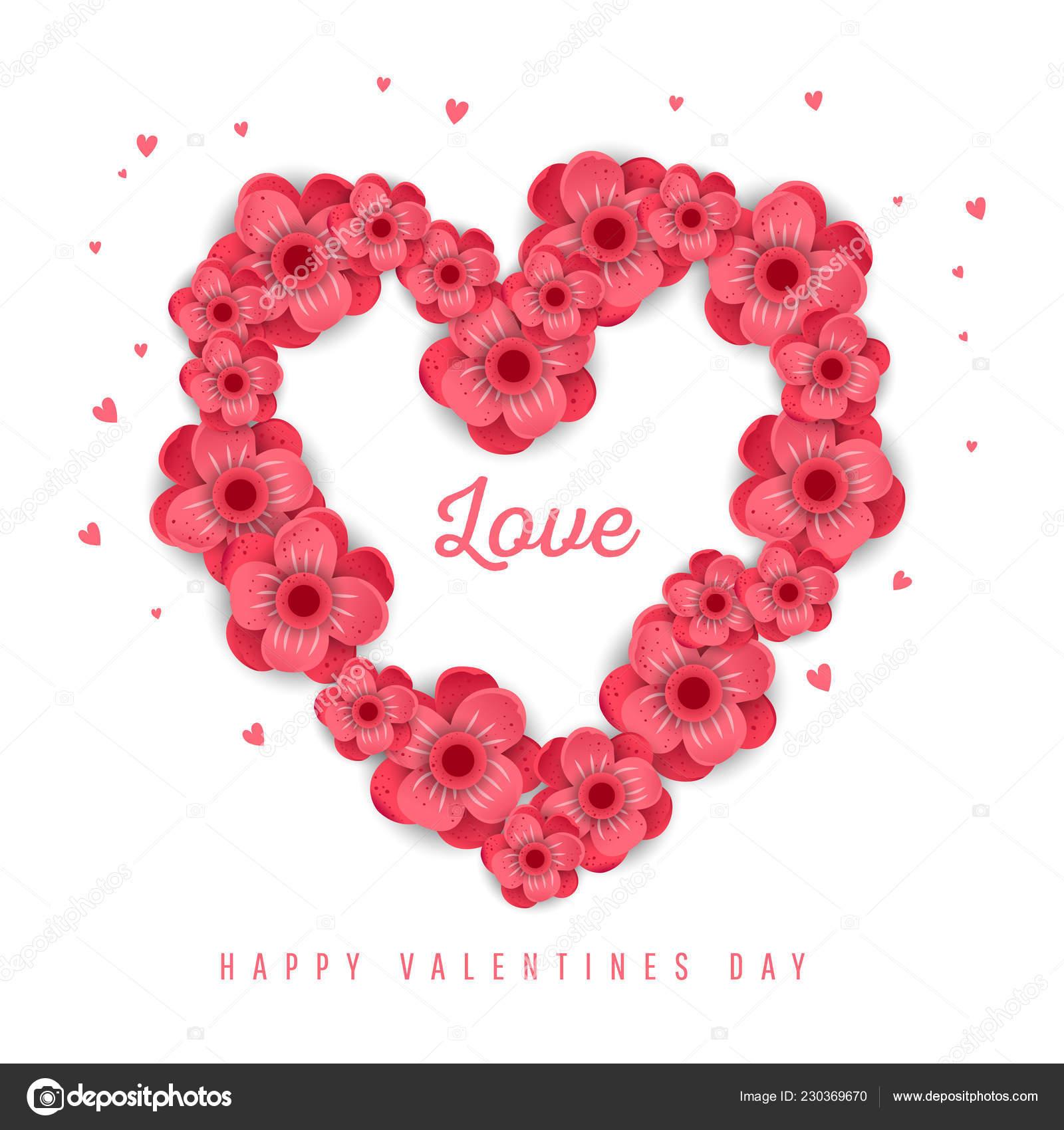 Happy Valentine S Day Design Stock Vector C Irinashatilova 230369670