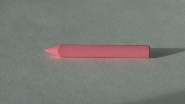 Rózsa rózsaszín rózsaszín viasz zsírkréta pasztell festés művész eszközzel