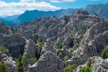 Views of the most dangerous, wild and mystical mountains of the Mediterranean region