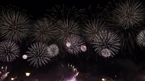Amazing fireworks in 4K.