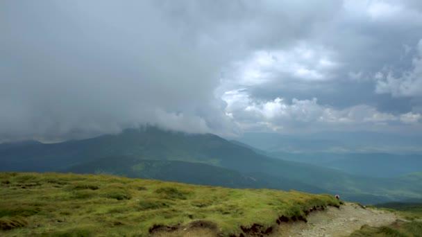 Chornohora mountain range landscape overview panorama