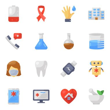 Pack of Medical Icons icon