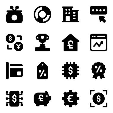 Corporate and Promotion Icons in Modern Filled Style Pack icon