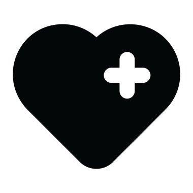 Add favourite concept icon in glyph style icon