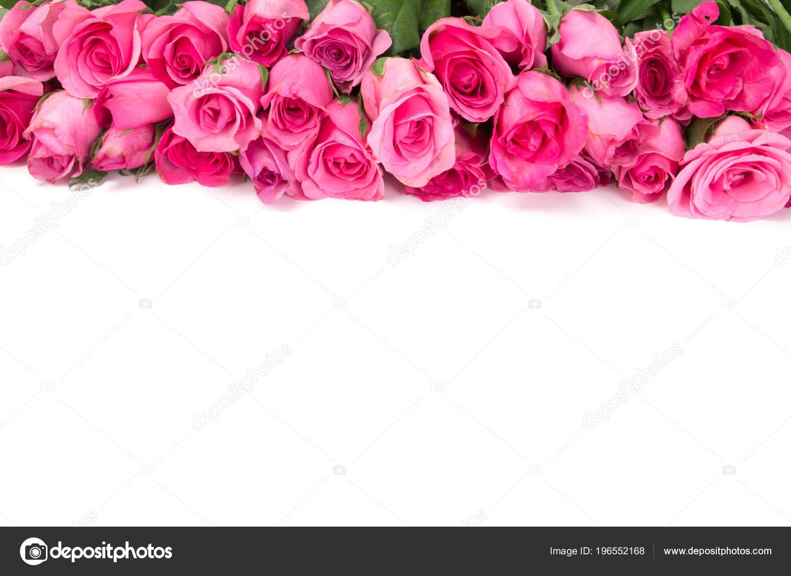 Frontière Belle Douce Douce Rose Rose Pour Amour Romantique