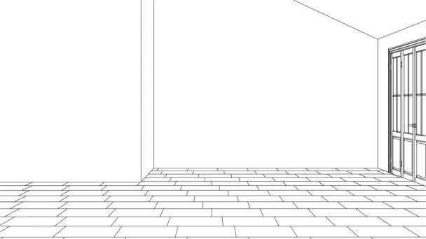 Moderní interiér venkovského domu. Návrh projektu. Opravy. 3D vykreslování.