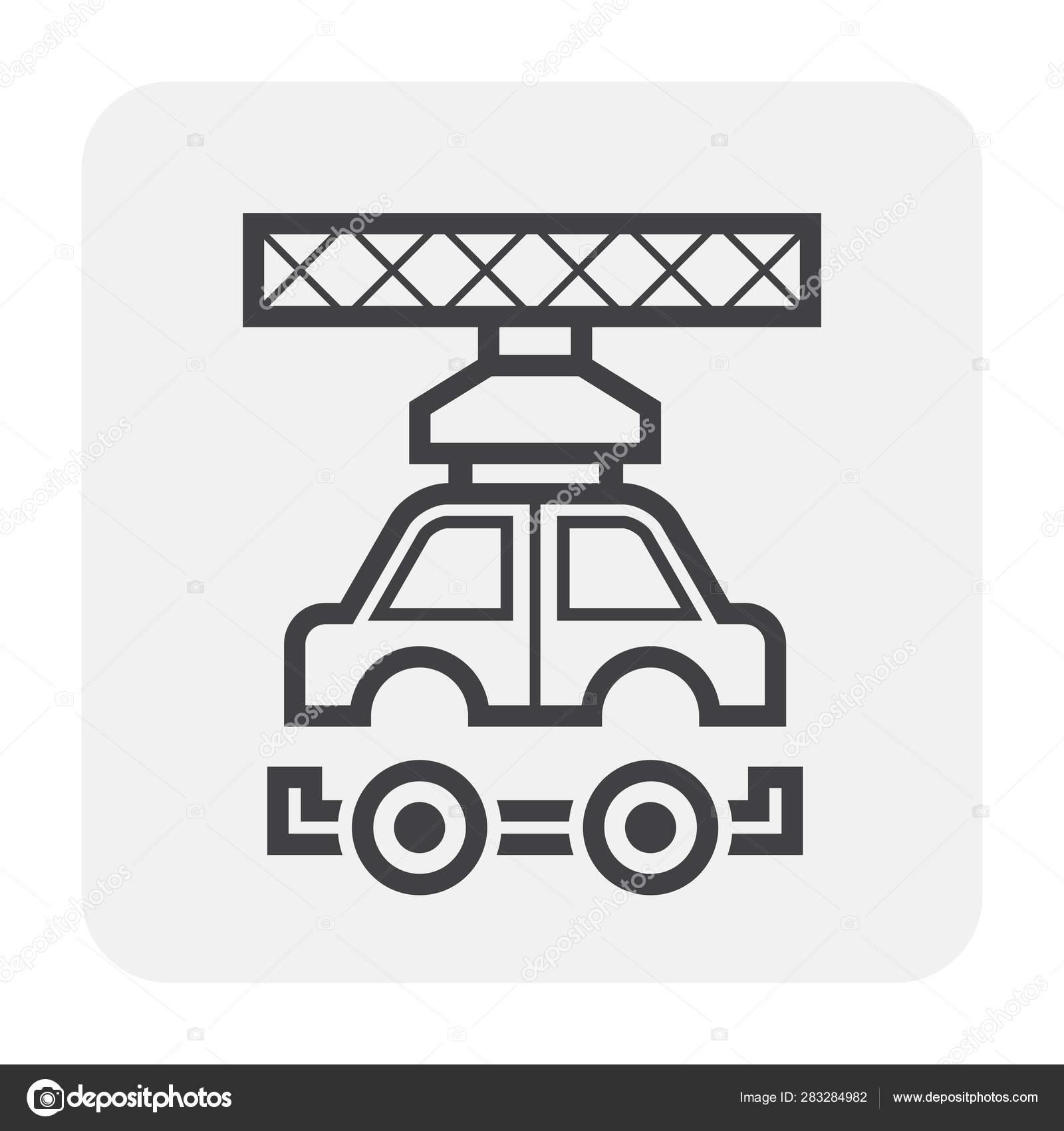 Car Manufacture Icon Stock Vector C Roncivil 283284982