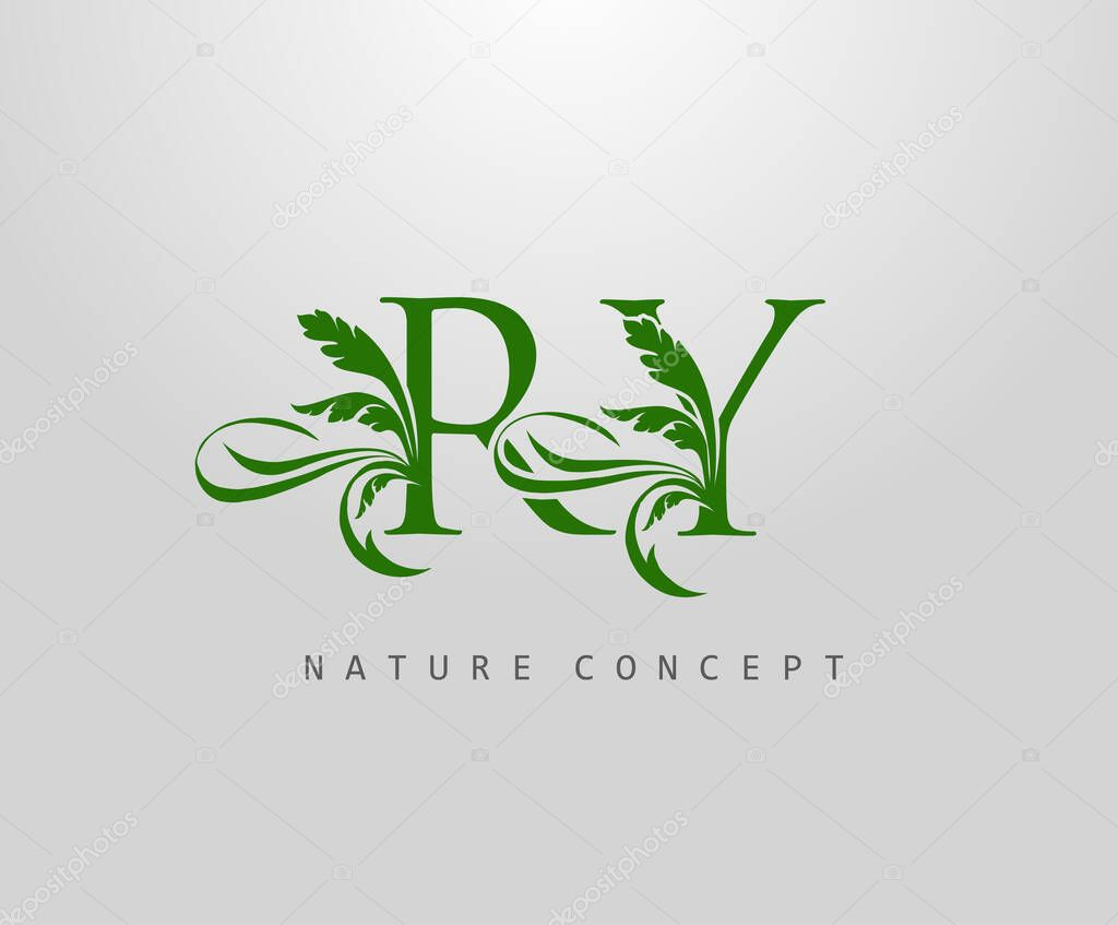 Letter R Y And Ry Green Leaf Logo Design Monogram Logo Simple Swirl Green Leaves Alphabet Icon Premium Vector In Adobe Illustrator Ai Ai Format Encapsulated Postscript Eps Eps Format,Layout Interior Design Templates