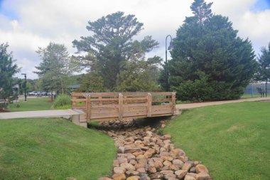 Walkway path in park