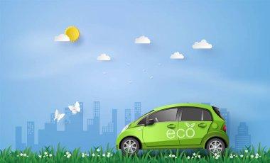 Eco car concept.