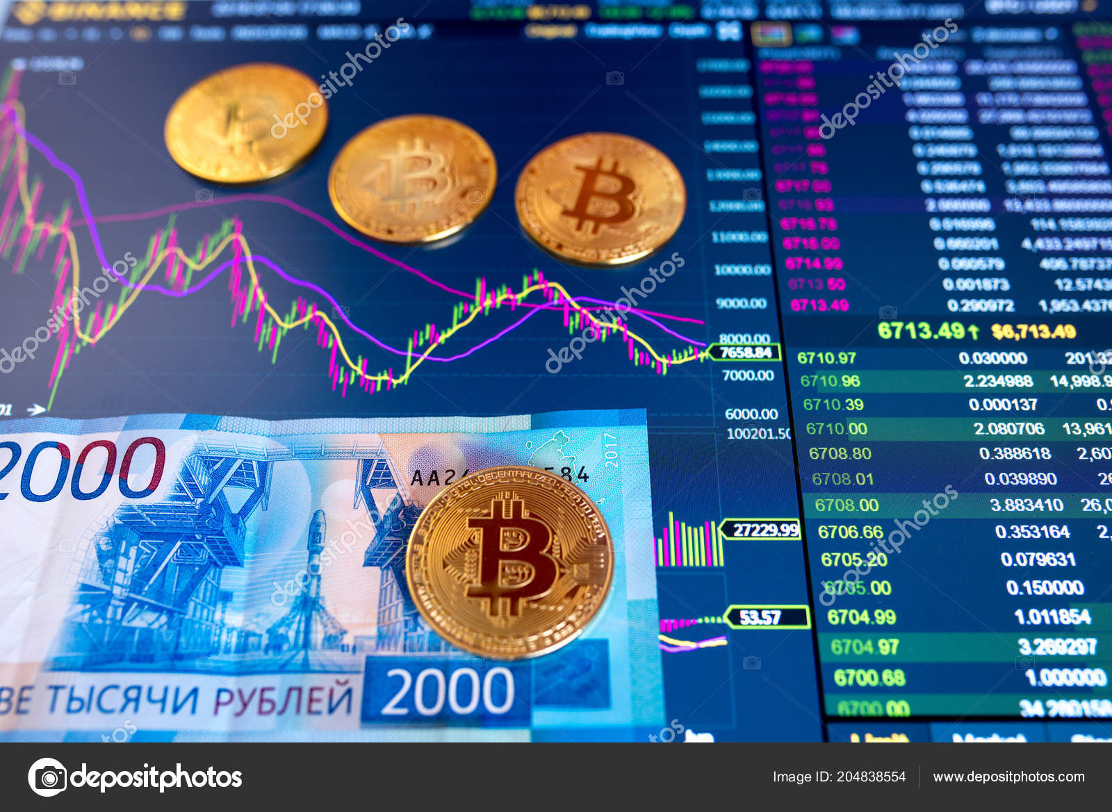 How to exchange Bitcoin for rubles 55