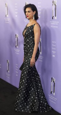 New York, NY - June 12, 2018: Morena Baccarin attends 2018 Fragrance Foundation Awards at Alice Tully Hall at Lincoln Center