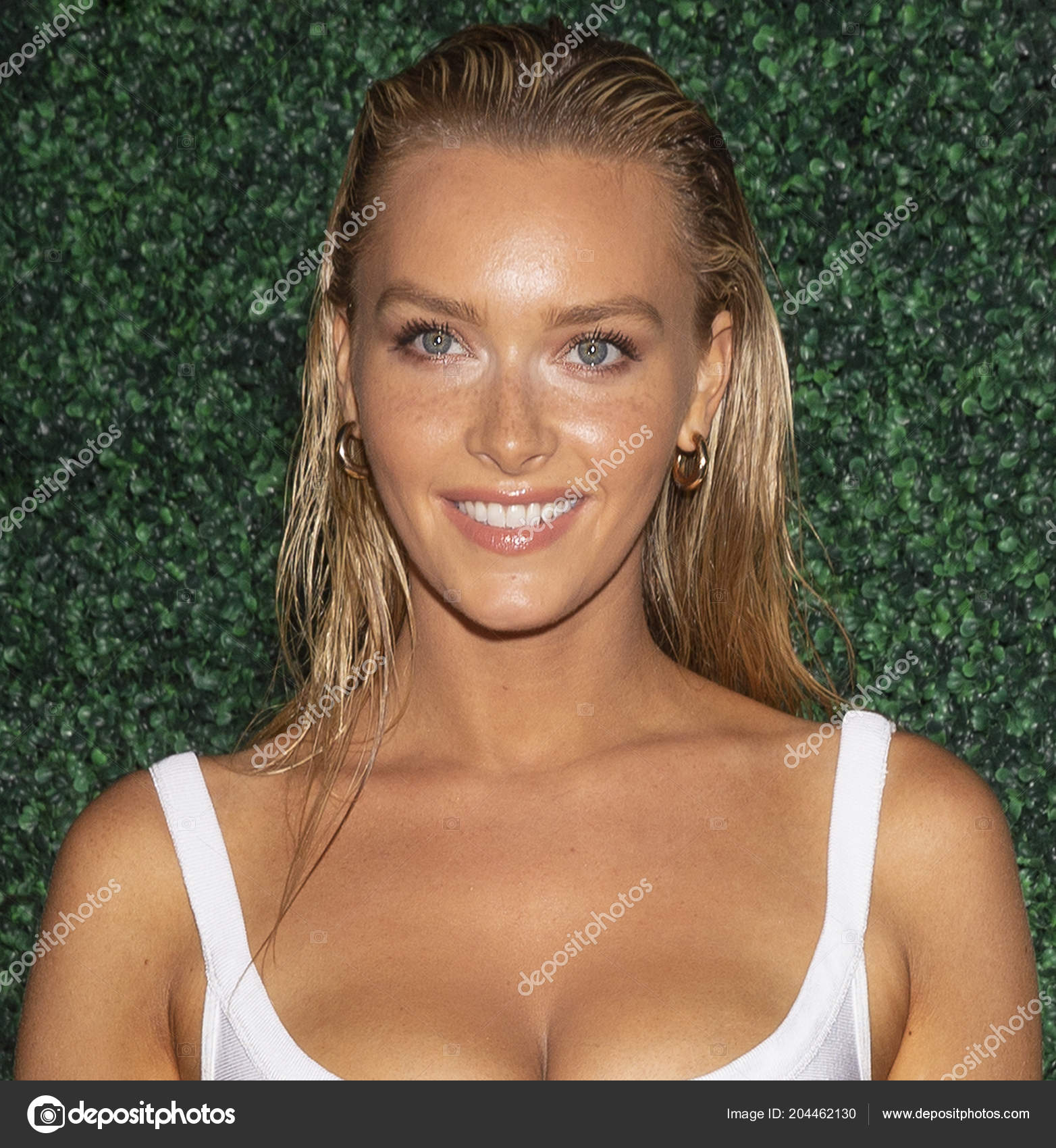 Camille Kostek Swimsuit Model: Miami Beach July 2018 Camille Kostek Attends 2018 Sports