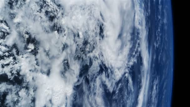 Der Hurrikan Sturm Satelliten-Ansicht