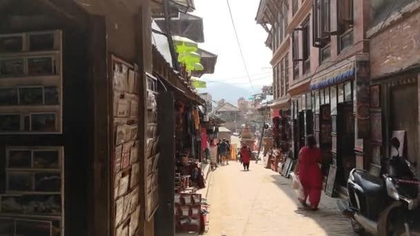 Kathmandu , Nepal - October 2018: Durbar square in Bhaktapur Kathmandu, Nepal. Bhaktapur is one of UNESCO World Heritage Sites.