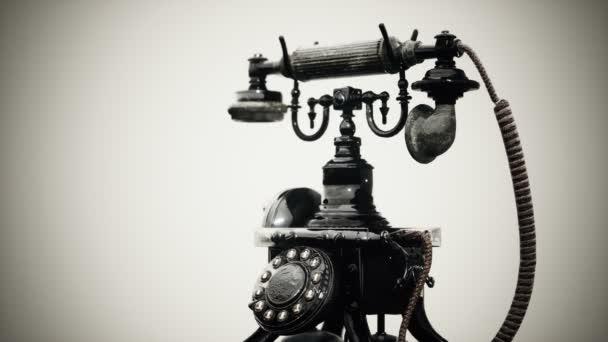 retro vintage régi telefon