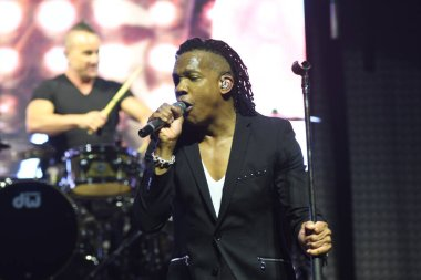 Newsboys United Concert at First Baptist Church Orlando in Orlando Florida on May 1, 2018.
