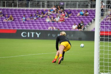 Photo Prides Hosts the Portland Thorns FC at Orlando City Stadium in Orlando Florida on Saturday May 11, 2019.