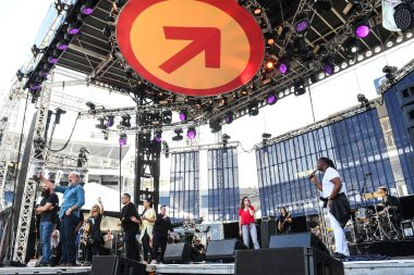 The Send Christian Revival at Camping World Stadium in Orlando Florida on February 23, 2019.