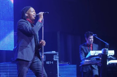 Christian Bands Newsboys and Building 429 Perform at First Baptist Church, Oviedo, FL, USA on November 4, 2012