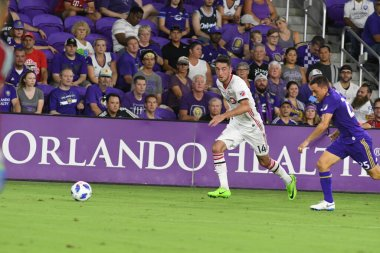 Orlando City host Toronto FC at Exploria Stadium in Orlando Florida on July 14, 2018.  Photo Credit:  Marty Jean-Louis