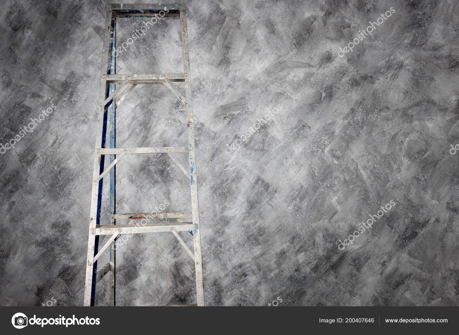 Aluminium Escalier Couleur Peinture Béton Loft Style Arrière
