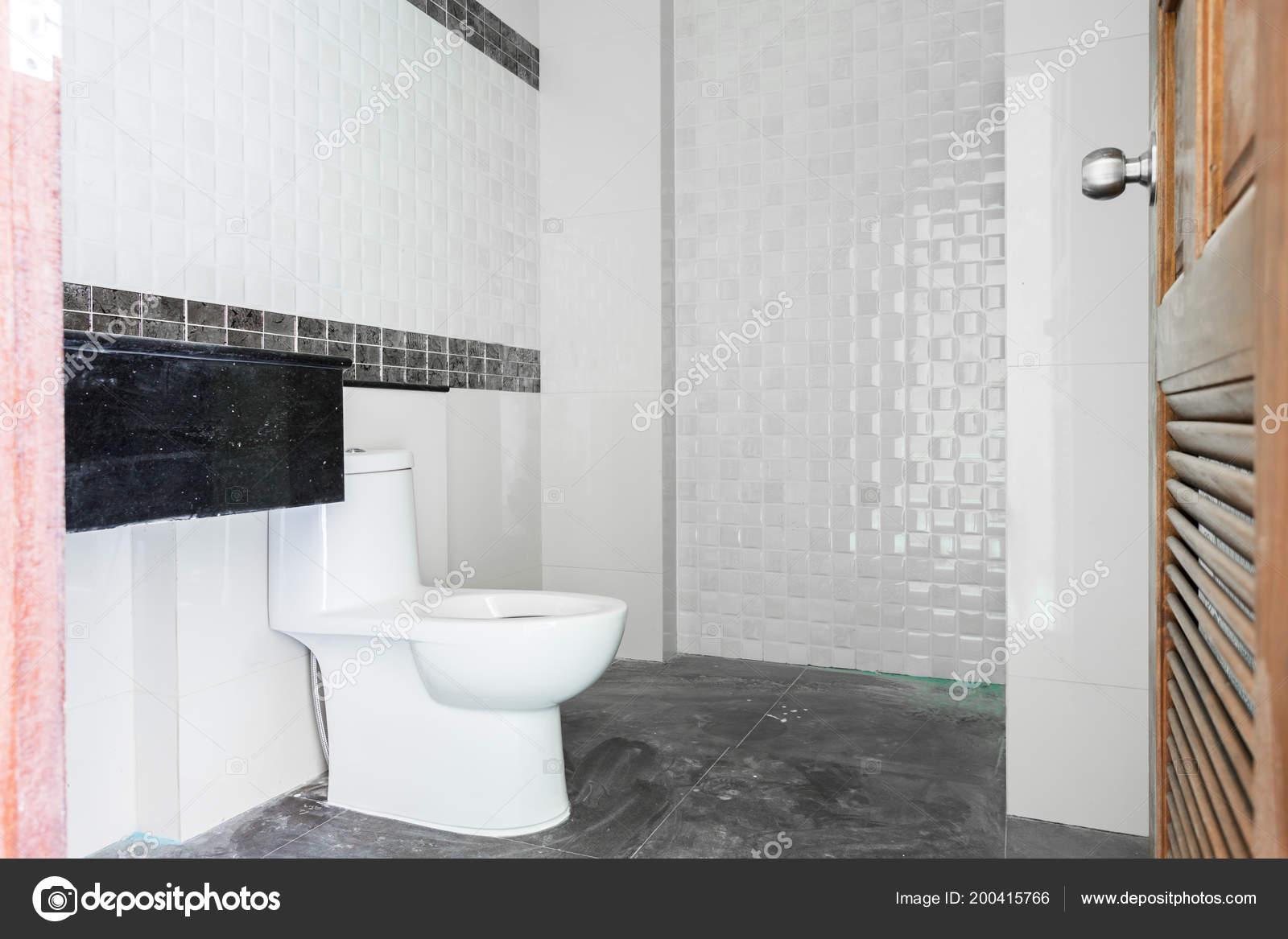 Casa bagno design moderno bianco sanitari bagno costruzione u foto