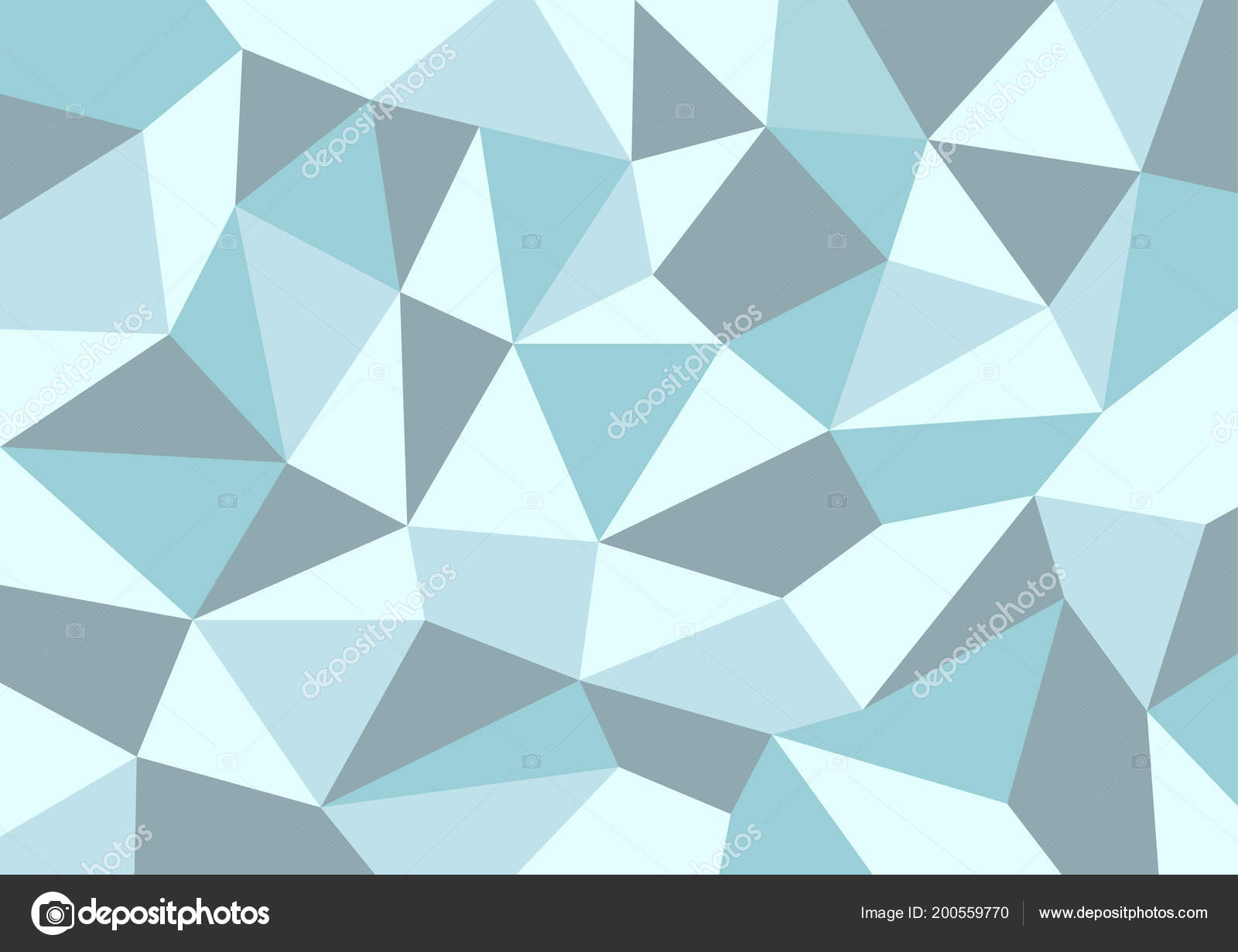 Abstract Background Blue Color Graphic Design Polygon Vector