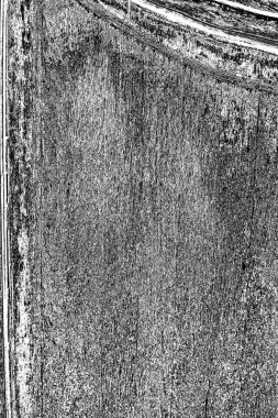 Old plank wooden wall background. The texture of old wood. Weathered piece of wood. stock vector