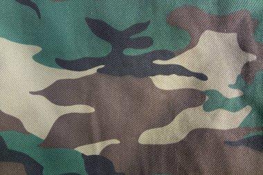 Military camouflage uniform background